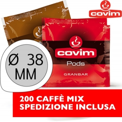 200 Cialde 38 MM Covim Mix