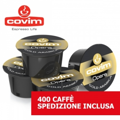 Gold Arabica - 400 Lavazza Blue Covim
