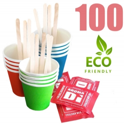 Kit accessori caffè da 100 Eco