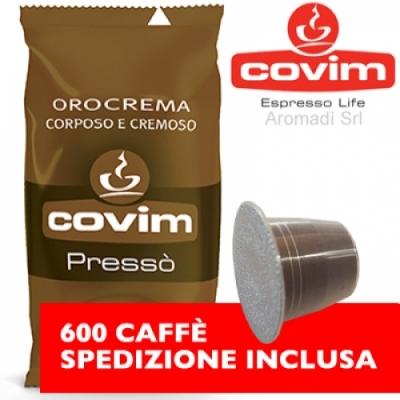 Orocrema - 600 Nespresso Covim