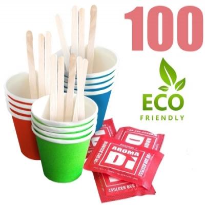 Kit accessori caffè da 100 Eco