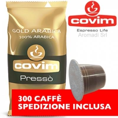 300 Capsule Nespresso Covim Gold Arabica