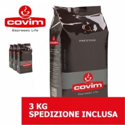 Prestige - 3 Kg caffè in grani Covim