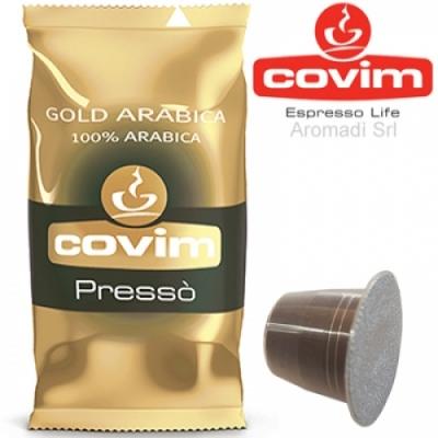 Gold Arabica - 100 Nespresso Covim