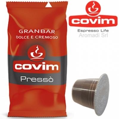 50 Capsule Nespresso Covim Granbar