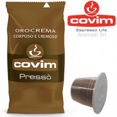 50 Capsule Nespresso Covim Orocrema