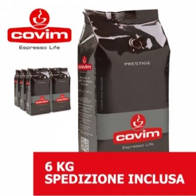 Prestige - 6 Kg caffè in grani Covim