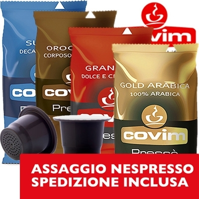 Assaggio - 40 Nespresso Covim Mix
